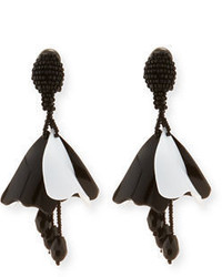 Small impatiens flower drop earrings medium 3650061