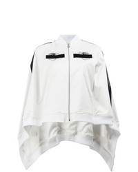 Anrealage Embroidered Detail Cape Style Bomber Jacket
