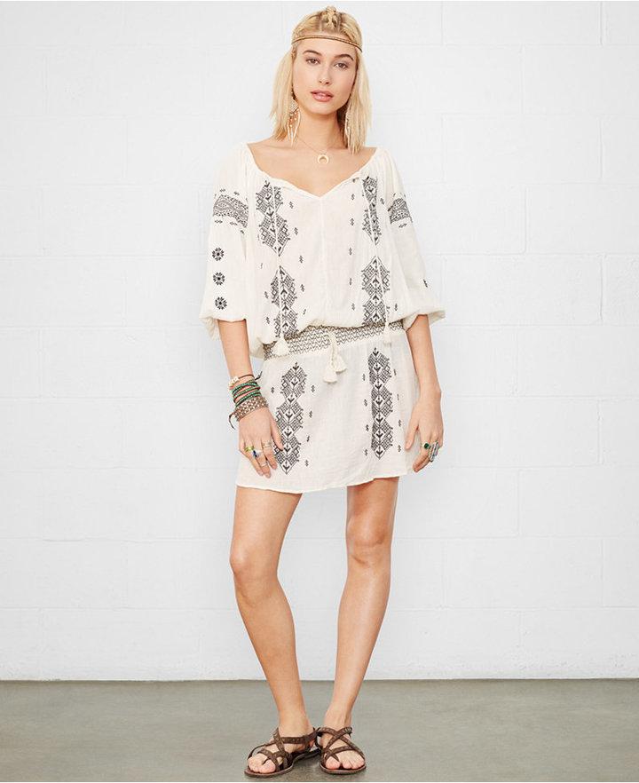 be5d23da6e ... Denim   Supply Ralph Lauren Embroidered Peasant Dress ...