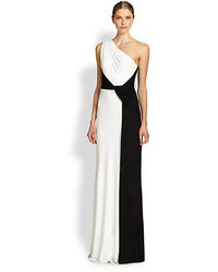 David Meister Strapless Crepe Gown  Where to buy &amp how to wear