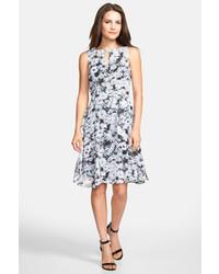Wallis Daisy Print Fit Flare Dress