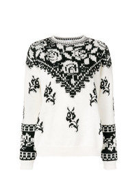RED Valentino Floral Print Jumper