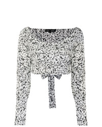 Proenza Schouler Cropped Wrap Top