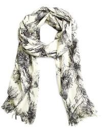 Saxxon wool floral wrap medium 115690