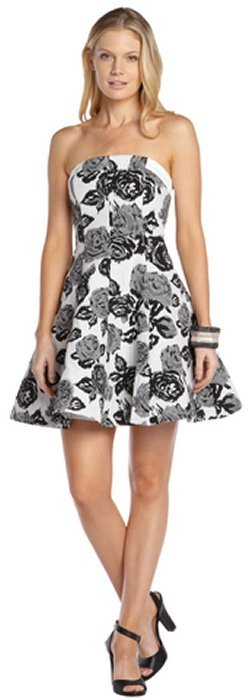 Abs by allen schwartz abs by allen schwartz black and white stretch dresses abs by allen schwartz abs by allen schwartz black and white stretch cotton blend floral print mightylinksfo
