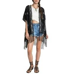 Umgee USA Fringe Kimono