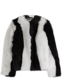 Moschino Boutique Two Tone Sheepskin Jacket