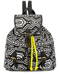 Aztec Contrasting Straps Backpack