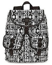 Olsenboye tribal print glitter trim backpack medium 52558