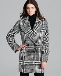 Trina Turk Coat Nancy Houndstooth Check