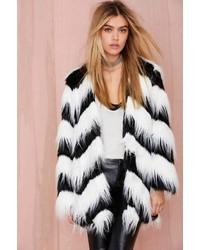 Glamorous Sass Master Faux Fur Coat