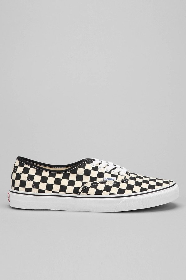 vans authentic checker