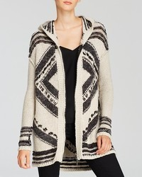 Cardigan aztec fringe medium 87125