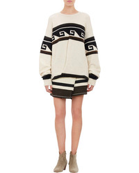 Isabel Marant Tribal Pattern Oversize Samuel Sweater