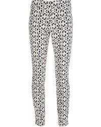 Diane von Furstenberg Rhianna Printed Woven Trouser