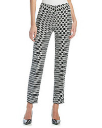 Nine West Jacquard Skinny Pants
