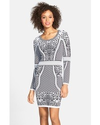 Charlie Jade Body Con Sweater Dress