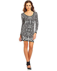 Taryn tribal sweater dress medium 152136