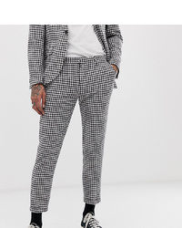 Heart & Dagger Skinny Fit Suit Trousers In Gingham