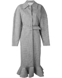 Awake Awake Gingham Oversized Coat