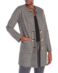 Alysi Gingham Coat