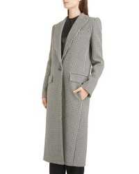Givenchy Houndstooth Wool Coat
