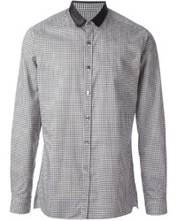 Gingham check shirt medium 171593