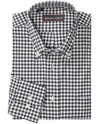 Kenneth Gordon Multi Check Shirt Long Sleeve