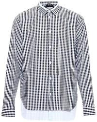 No.21 N21 Layered Check Shirt