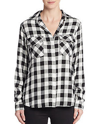 Split sequined back shirt medium 352957