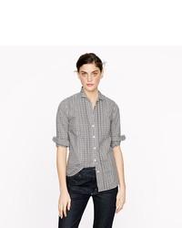 ... Thomas Mason Tuxedo Shirt In Gingham cf70bba2e