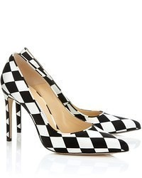 Bionda castana harlequin satin daphne bis pumps medium 53745
