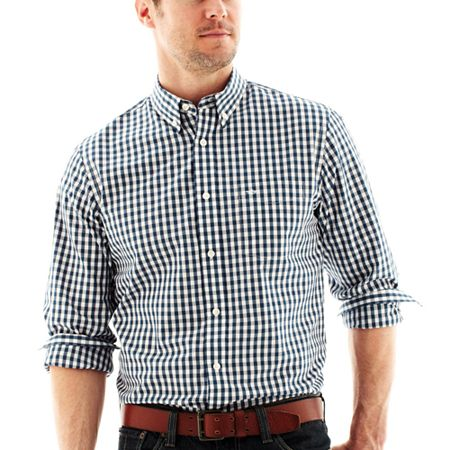 Dockers no wrinkle gingham shirt where to buy how to wear for Dockers wrinkle free shirts