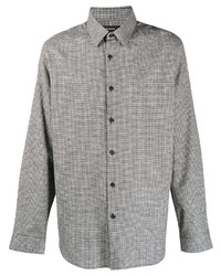 Theory Irving Gingham Shirt