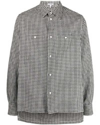 Loewe Long Sleeve Checked Shirt