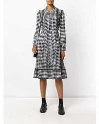 5fa8688268e Ermanno Scervino Gingham Dress With Frills