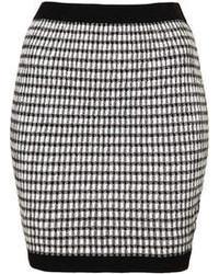 Gingham ruched skirt medium 43950
