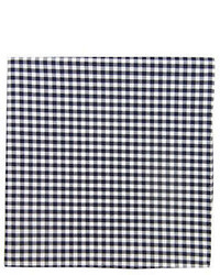 The Tie Bar Gingham Checked Pocket Square