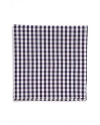 Original Penguin Cohen Gingham Cotton Pocket Square