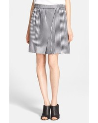 Cotton gingham skirt medium 147067