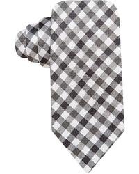 Vince Camuto Pellico Gingham Slim Tie