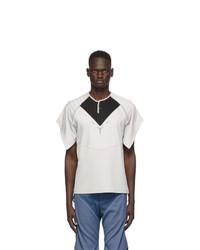 Kiko Kostadinov Grey Kenneth Jersey T Shirt
