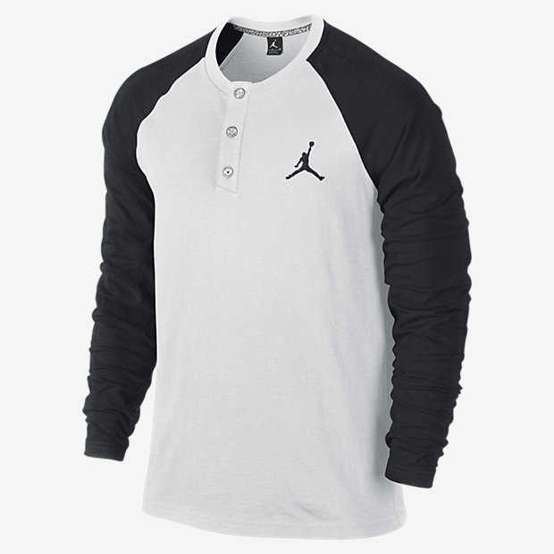 Nike Jordan Long Sleeve Henley Shirt | Where to buy & how to wear