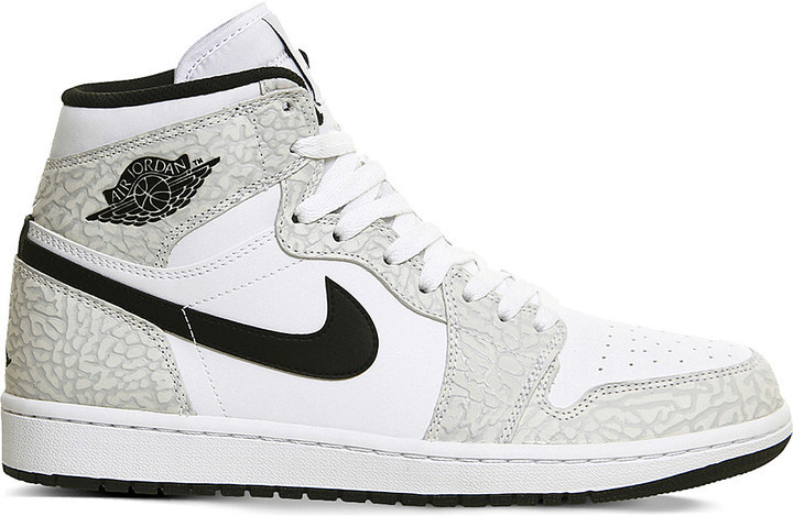 bc0bdcc6c3f Nike Air Jordan 1 Og Canvas High Top Trainers, $131 | Selfridges ...