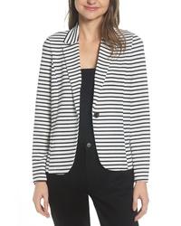 Vero Moda Stripe Stretch Jersey Blazer