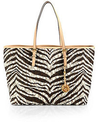 MICHAEL Michael Kors Michl Michl Kors Striped Canvas Tote