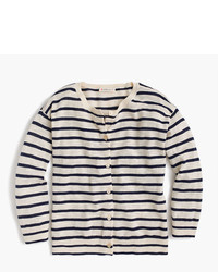 J.Crew Girls Striped Cardigan Sweater