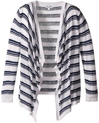 Splendid Littles Striped Wrap Sweater