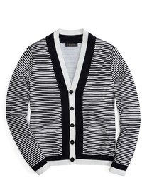 Supima feed stripe cardigan medium 20600