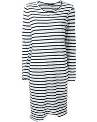 Bassike Striped T Shirt Dress